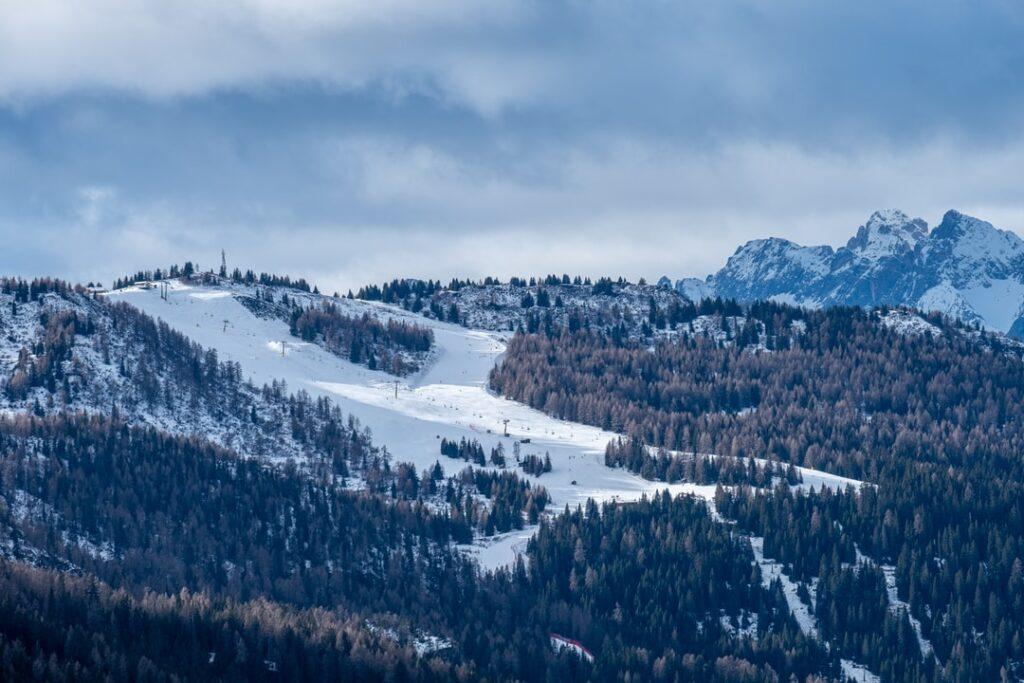 allenamento sci