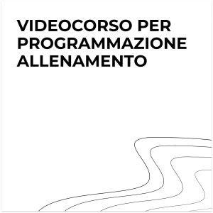 Videocorso programmazione allenamento